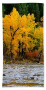 Autumn Beauty In Boise County Bath Towel