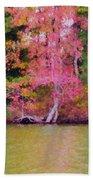 Autumn Color In Norfolk Botanical Garden 1 Hand Towel