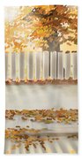 Autumn Day Bath Towel