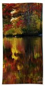 Autumn Fire Bath Towel