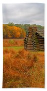 Autumn Foliage In Valley Forge Bath Towel