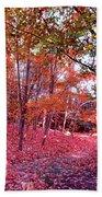 Autumn Forest Bath Towel