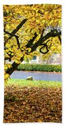 Autumn Gold Bath Towel
