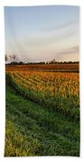 Autumn Gold Hand Towel