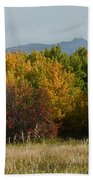 Autumn In Idaho Bath Towel