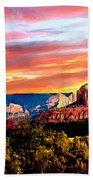Autumn In Red Rock State Park Hand Towel