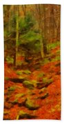 Autumn In Sproul State Forest Bath Towel