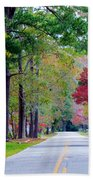 Autumn In The Air Bath Towel
