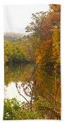 Autumn In The Butternut Valley-five Bath Towel