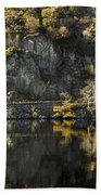 Autumn In The Lake Bath Towel