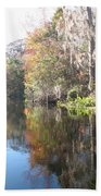 Autumn In A Swamp Bath Towel