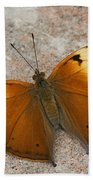Autumn Leaf Butterfly Hand Towel