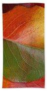 Autumn Leaf Bath Towel