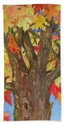 Autumn Leaves 1 Bath Towel