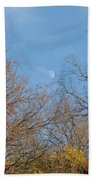 Autumn Moonrise Bath Towel