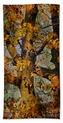 Autumn Oaks In Dance Mode Bath Towel