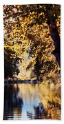 Autumn On The Applegate Hand Towel