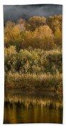 Autumn On The Klamath 3 Bath Towel