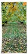 Autumn Orchard Bath Towel