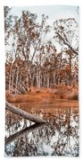 Autumn Reflections V2 Bath Towel