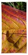 Autumn Saga Bath Towel