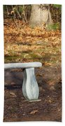 Autumn Seat Bath Towel