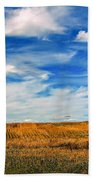 Autumn Sky Bath Towel