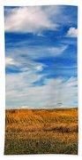 Autumn Sky Bath Towel