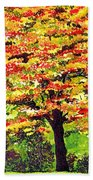 Autumn Splendor Bath Towel