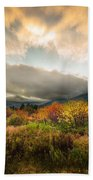 Autumn Storm Clearing Bath Towel