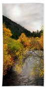 Autumn Stream Bath Towel