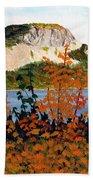 Autumn Sunset On The Hills Bath Sheet