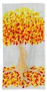 Autumn Tree Bath Towel