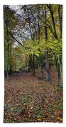 Autumn Woodland Bath Towel