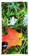 Autumns First Leaf Bath Towel