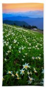 Avalanche Lily Field Bath Towel