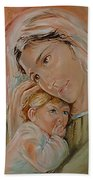 Ave Maria Bath Towel