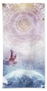 Awake In A Silver Land Hand Towel