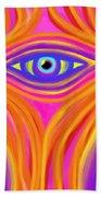 Awakening The Desert Eye Bath Sheet by Daina White