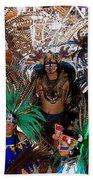 Aztec Performers O'odham Tash Casa Grande Arizona 2006  Bath Towel