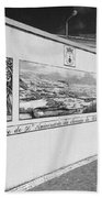 Azulejo Mural In Azores Bath Towel