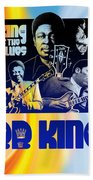 B. B. King Poster Art Bath Towel