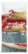 Baby Scarlet Spotted Dragon Bath Towel
