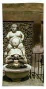 Bacchus Fountain Bath Towel