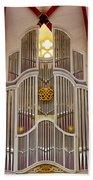 Bach Organ Leipzig Bath Towel