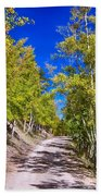 Back Country Road Take Me Home Colorado Bath Towel