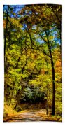 Backroads Of The Great Smoky Mountains National Park Hand Towel