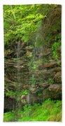 Backroads Waterfall In West Virginia Hand Towel