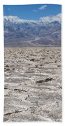 Badwater Basin - Death Valley Bath Towel