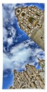 Balboa Park's California Tower By Diana Sainz Bath Towel